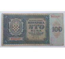Хорватия 100 куна 1941