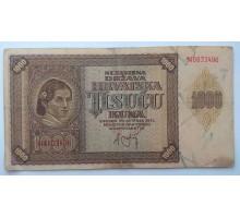 Хорватия 1000 куна 1941