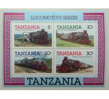 Танзания блок 1985 (Б175)