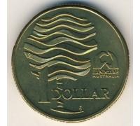 Австралия 1 доллар 1993. Landcare Australia - организация по защите окружающей среды
