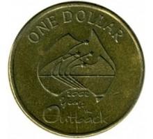 Австралия 1 доллар 2002. Год отдаленных районов Австралии