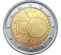 Бельгия 2 евро 2013. 100 лет Королевскому Метеорологическому Институту