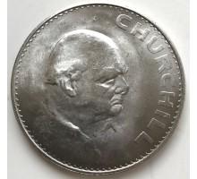 Великобритания 1 крона 1965. Черчиль