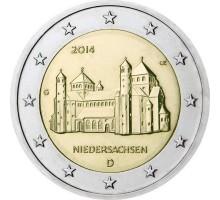 Германия 2 евро 2014. Церковь Св. Михаэля, Нижняя Саксония