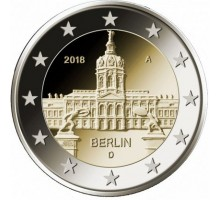 Германия 2 евро 2018. Берлин