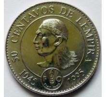 Гондурас 50 сентаво 1994. 50 лет ФАО