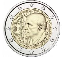 Греция 2 евро 2016. 120 лет со дня рождения Димитриса Митропулоса