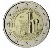 Греция 2 евро 2017. Филиппы