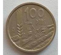 Испания 100 песет 1995. ФАО