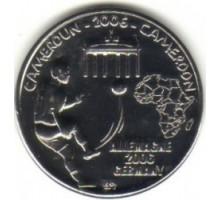Камерун 1500 франков 2006. Чемпионат мира по футболу 2006 Германия