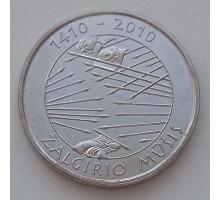 Литва 1 лит 2010. 600 лет Грюнвальдской битве