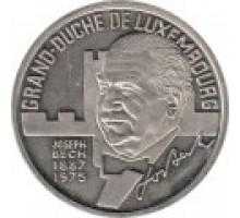 Люксембург 5 экю 1993. Жозеф Беш