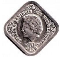 Нидерланды 5 центов 1979. 70 лет со дня рождения Королевы Юлианы