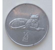 Северная Корея 1/2 чона 2002. Мир животных - Леопард