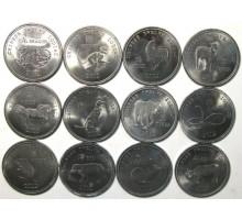 Сомалиленд 10 шиллингов 2012. Китайский гороскоп. Набор 12 шт