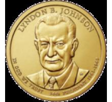 США 1 доллар 2015. 36 президент Линдон Джонсон