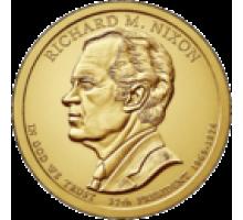 США 1 доллар 2016. 37 президент Ричард Никсон