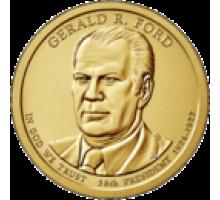 США 1 доллар 2016. 38 президент Джеральд Форд