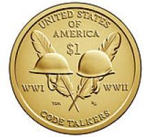 США 1 доллар 2016. Сакагавея Индианка, Радисты