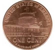 США 1 цент 2009. 200 лет со дня рождения Авраама Линкольна - Президентство в Вашингтоне