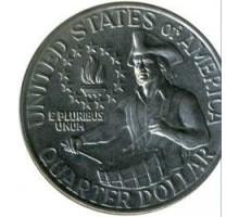США 25 центов 1976. 200 лет независимости. Барабанщик