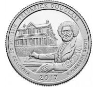 США 25 центов 2017. 37 парк Национальное историческое место Фредерика Дугласа