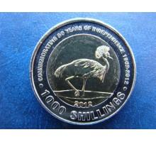 Уганда 1000 шилингов 2012 50 лет Независимости