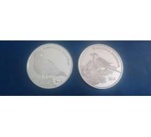 Шетландские острова 1 фунт 2016. Набор 2 монеты