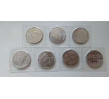 25 рублей Сочи 2011-2014. Набор 7 шт