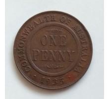 Австралия 1 пенни 1935