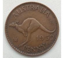 Австралия 1 пенни 1952