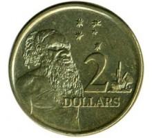 Австралия 2 доллара 1999-2019