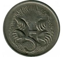Австралия 5 центов 1966-1984