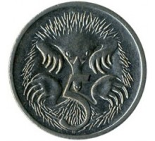 Австралия 5 центов 1999-2016