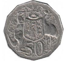Австралия 50 центов 1969-1984