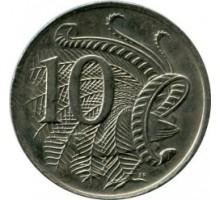 Австралия 10 центов 1966-1984