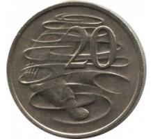 Австралия 20 центов 1966-1984
