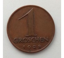 Австрия 1 грош 1928