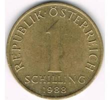 Австрия 1 шиллинг 1959-2001