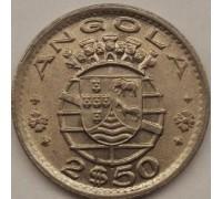 Ангола 2,5 эскудо 1953-1974