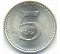 Ангола 5 кванз 1977