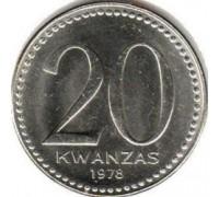 Ангола 20 кванз 1978
