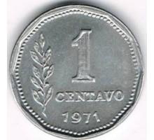 Аргентина 1 сентаво 1970-1975