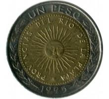 Аргентина 1 песо 1994-2016