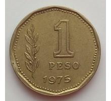 Аргентина 1 песо 1974-1976