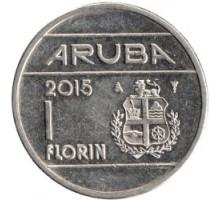 Аруба 1 флорин 2014-2018