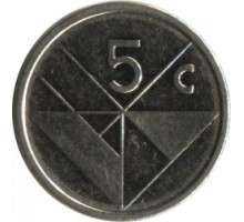 Аруба 5 центов 1986-2019