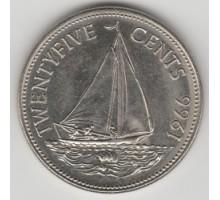 Багамы 25 центов 1966-1970
