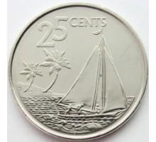Багамы 25 центов 2007-2015