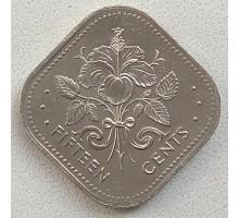 Багамы 15 центов 1974-2005